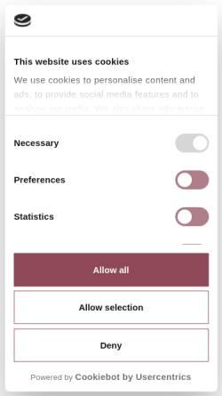 Vorschau der mobilen Webseite www.hotel-jenewein.com, Hotel Jenewein