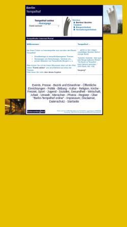 Vorschau der mobilen Webseite www.virtuelleallgemeinbibliothek.de, Tempelhof online