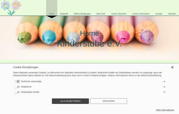 Vorschau von www.kinderstube-kaufbeuren.de, Kinderstube Kaufbeuren e.V.