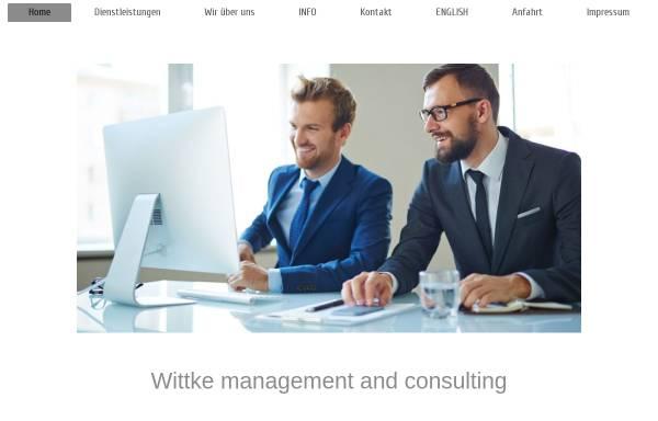 Vorschau von www.wittke.de, Ingenieurbüro Wittke, Inh. Dipl.–Ing. (BA) Rüdiger Wittke