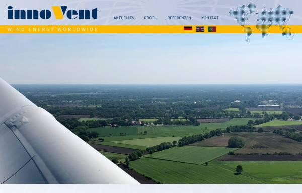 Vorschau von www.innovent.eu, innoVent GmbH
