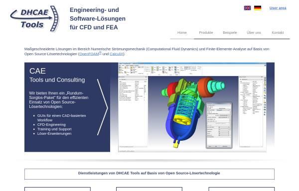 Vorschau von www.dhcae.de, Dr. Heck Consulting and Engineering, Inh. Dr. Ulrich Heck
