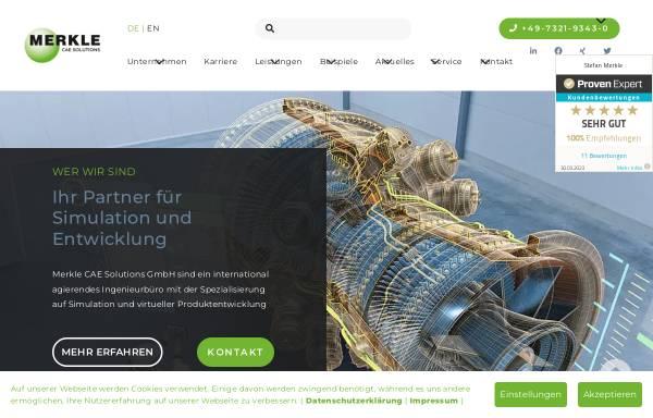 Vorschau von www.merkle-partner.de, Merkle & Partner Ingenieurbüro GbR