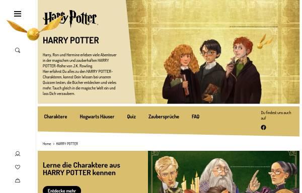 Vorschau von www.carlsen-harrypotter.de, Carlsen - Harry Potter