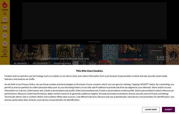 Vorschau von de.harry-potter.wikia.com, Harry Potter Wiki und Lexikon