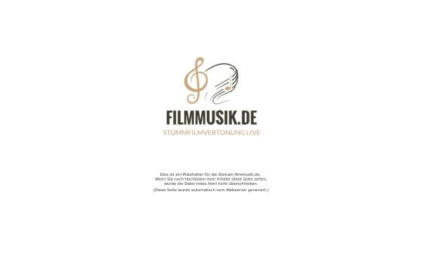 Vorschau von www.filmmusik.de, Filmmusik
