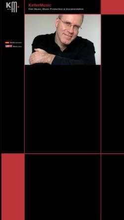 Vorschau der mobilen Webseite www.kellermusic.de, KellerMusic
