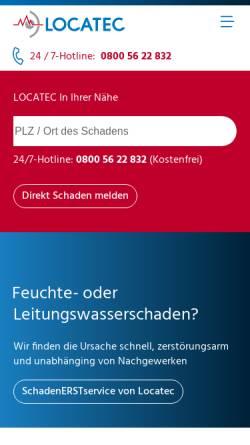 Vorschau der mobilen Webseite www.ortner-cc.at, Ortner GmbH