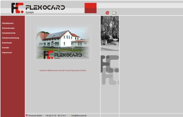 Vorschau von www.flexocard.de, FlexoCard GmbH