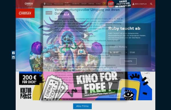 Vorschau von www.cineplex.de, Cineplex Warburg