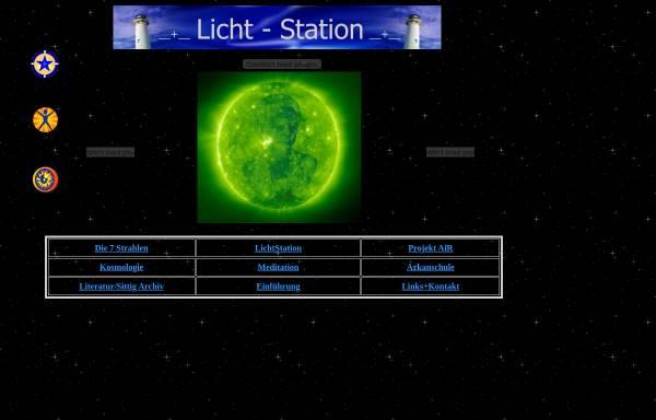 Vorschau von www.7strahlen.de, Licht-Station