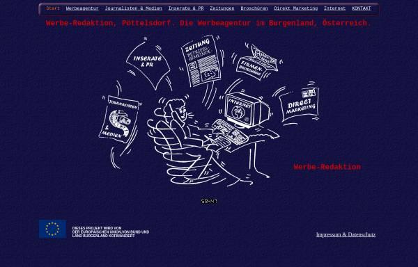 Vorschau von www.werbe-redaktion.at, Werbe-Redaktion