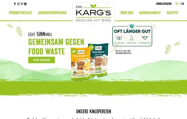 Vorschau von www.dr-karg.de, Dr. Klaus Karg KG