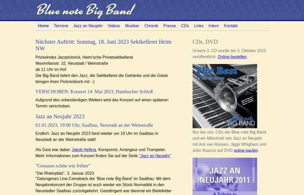 Vorschau von www.bluenotebigband.de, Blue Note Big Band