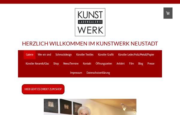 Vorschau von www.kunstwerk-neustadt.de, Kunstwerk - Ladengalerie