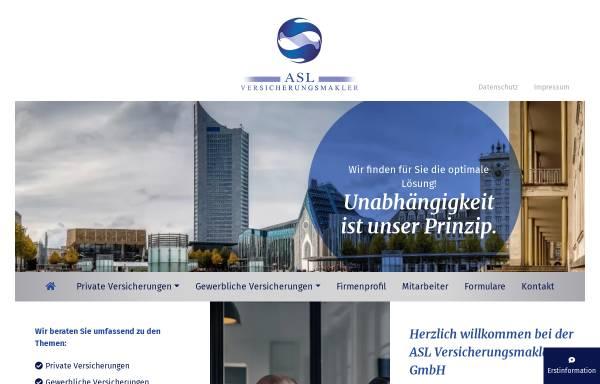 Vorschau von www.versicherung-leipzig.net, Assekuranz Service GmbH