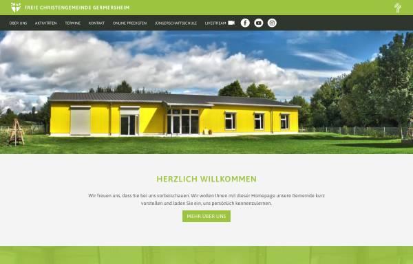 Vorschau von fcg-germersheim.de, Freie Christengemeinde Germersheim
