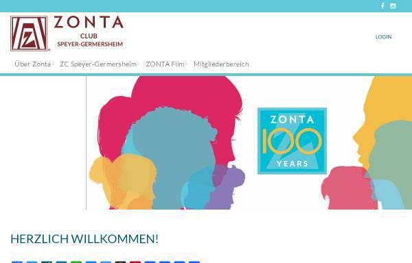 Vorschau von www.zonta-speyer-germersheim.de, ZONTA Club Speyer-Germersheim