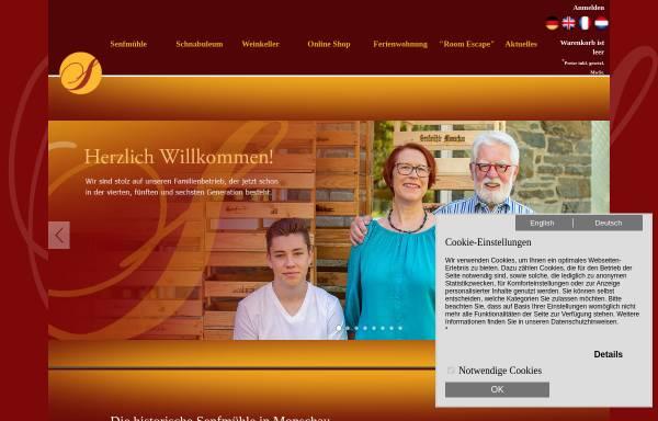 Vorschau von www.senfmuehle.de, Historische Senfmühle Monschau