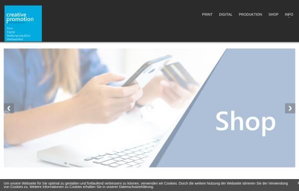 Vorschau von www.creative-promotion.de, Creative Promotion e.K.