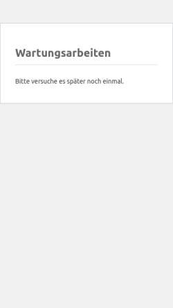 Vorschau der mobilen Webseite www.fischbach-irrel.de, Autohaus Gebr. Fischbach GmbH & Co. KG