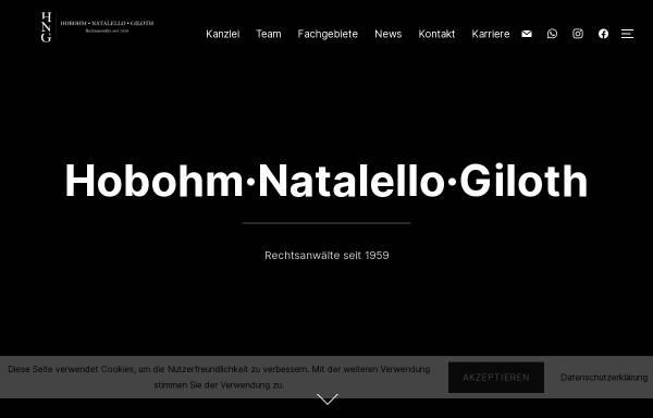 Vorschau von www.kanzlei-hobohm.de, Anwaltskanzlei Hobohm & Kollegen