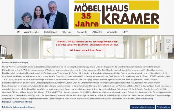 Vorschau von www.moebelhauskramer.de, Möbelhaus Krämer