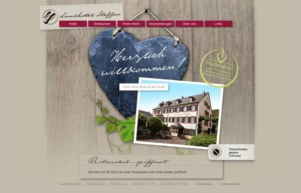 Vorschau von www.landhotel-steffen.de, Landhotel Steffen