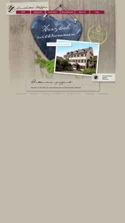 Vorschau der mobilen Webseite www.landhotel-steffen.de, Landhotel Steffen