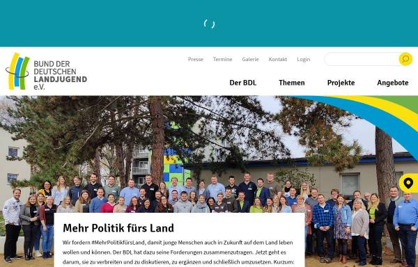 Vorschau von bdl.landjugend.info, Landjugend Steinweiler