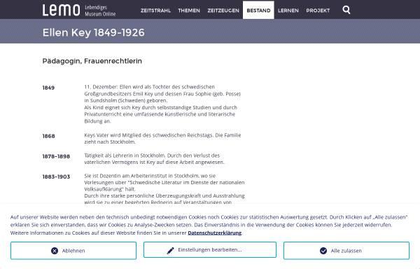 Vorschau von www.dhm.de, LeMo: Lebendiges virtuelles Museum Online