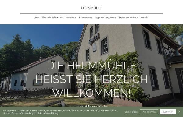 Vorschau von www.helmmuehle.de, Helm-Mühle Hotel+Restaurant