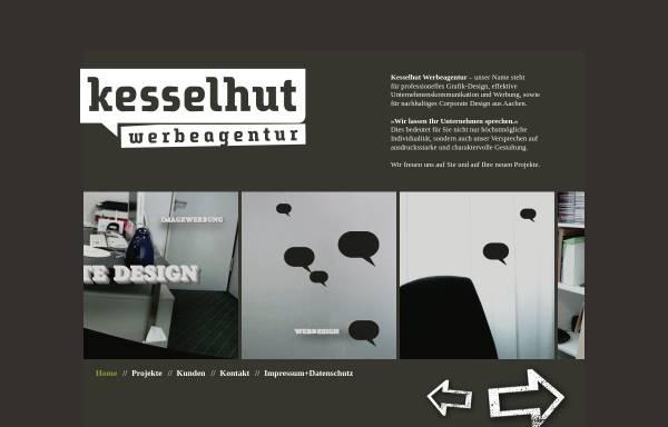 Vorschau von www.kesselhut-werbeagentur.de, Kesselhut Werbeagentur