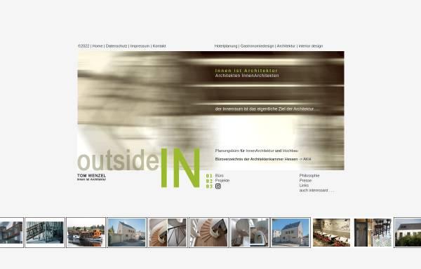 Vorschau von www.innen-ist-architektur.de, Tom Wenzel - innen-ist-architektur