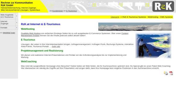 Vorschau von www.rzk.at, RzK GmbH