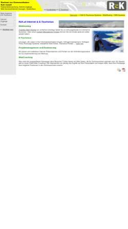 Vorschau der mobilen Webseite www.rzk.at, RzK GmbH