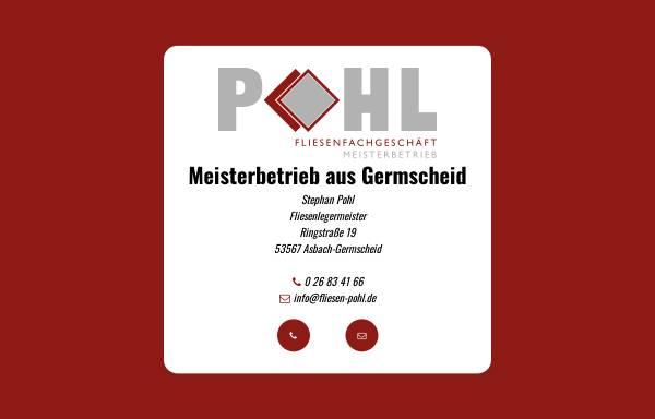 Vorschau von www.fliesen-pohl.de, Fliesenlegermeister Stephan Pohl