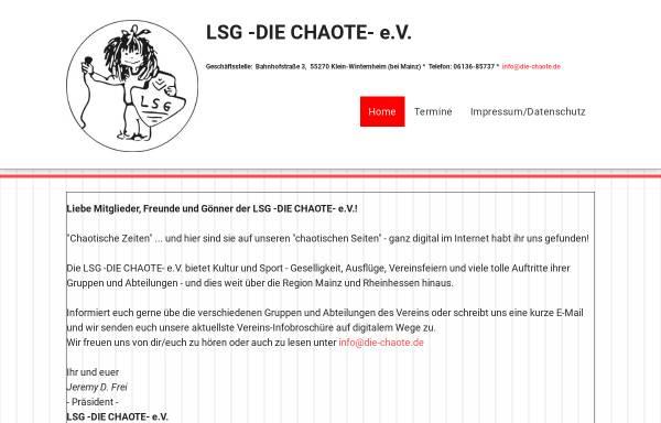 Vorschau von www.die-chaote.de, LSG - Die Chaote - Klein-Winternheim e.V.
