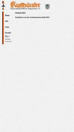 Vorschau der mobilen Webseite www.kkwo.de, Kyffhäuser-Kameradschaft Worms-Heppenheim e.V