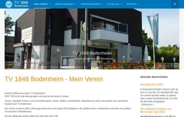 Vorschau von www.tv1848bodenheim.de, TV 1848 Bodenheim