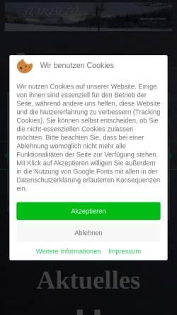 Vorschau der mobilen Webseite www.slv-ernstberg.de, Ski-Langlauf-Verein Ernstberg e.V.