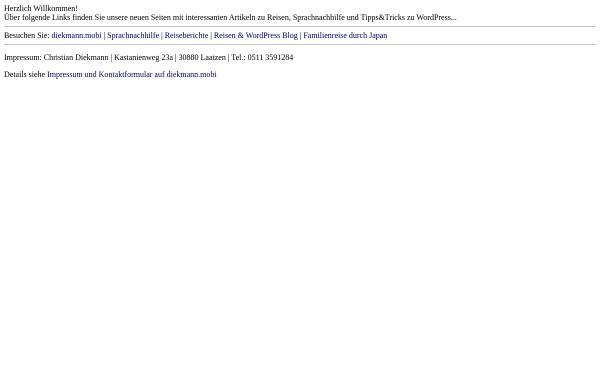 Vorschau von www.nichtschlappschlank.de, NichtSchlappschlank.de