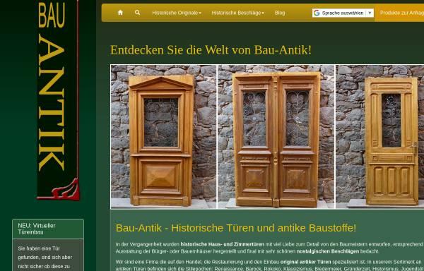 Vorschau von www.bau-antik.de, Claudia Blei, Bau Antik