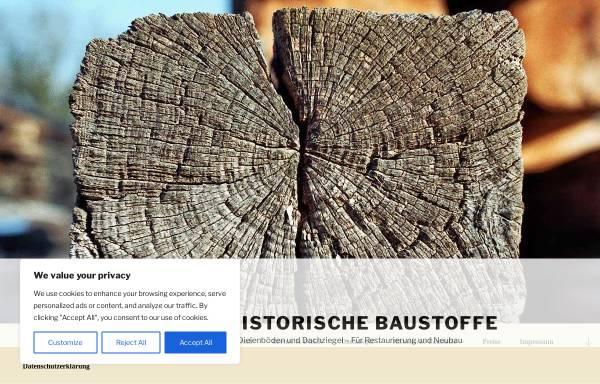 Vorschau von www.rupp-historische-baustoffe.de, Hubert Rupp