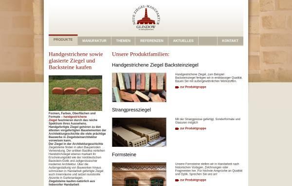 Vorschau von www.ziegelmanufaktur.com, Neue Ziegel-Manufaktur Glindow GmbH