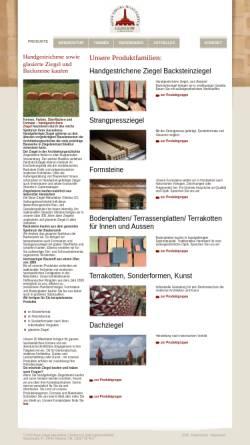 Vorschau der mobilen Webseite www.ziegelmanufaktur.com, Neue Ziegel-Manufaktur Glindow GmbH
