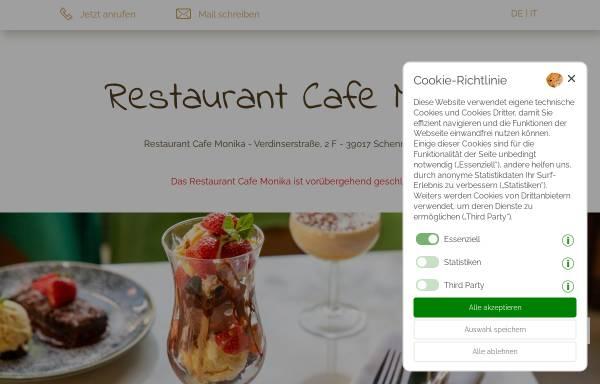 Restaurant Cafe Monika Gastgewerbe Schenna Cafe Monikait