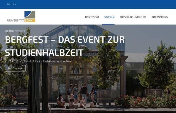 Vorschau von www3.uni-bonn.de, Bachelor Ernährungs- und Lebensmittelwissenschaften an der Rheinischen Friedrich-Wilhelms-Universität Bonn