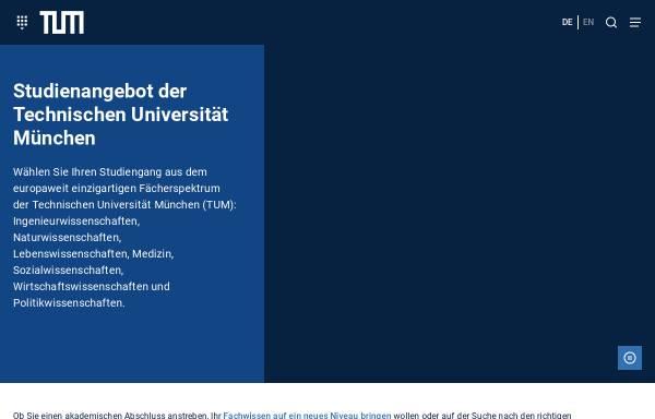 Vorschau von portal.mytum.de, Bachelor Ernährungswissenschaft an der TU München