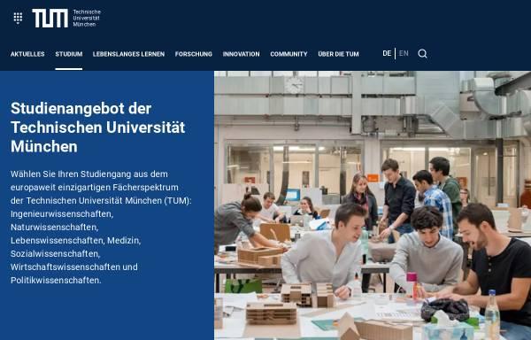 Vorschau von portal.mytum.de, Master Ernährungswissenschaft an der Technischen Universität München